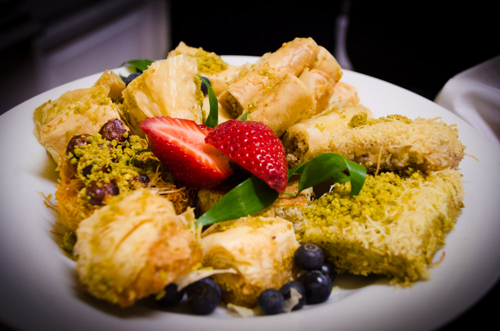 Greek Dessert Pastries - Catering by Seasons at Josephine Butler Parks Center