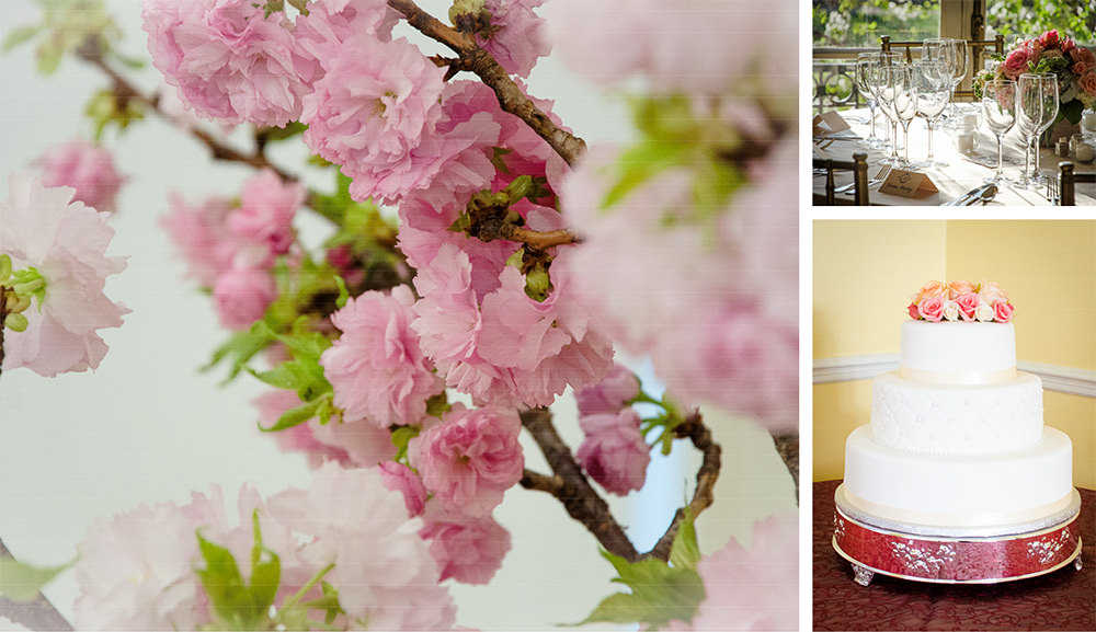 Cherry Blossom Wedding at Josephine Butler Parks Center - Catering by Seasons