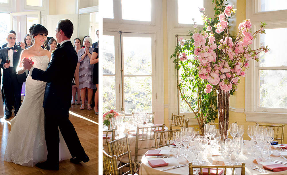 Wedding at Josephine Butler Parks Center - Catering by Seasons