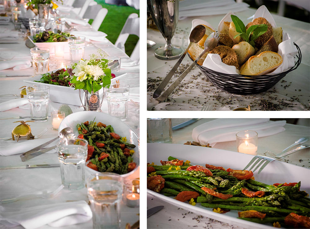 Longview Farm Wedding - Catering by Seasons
