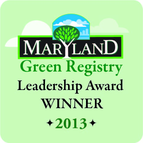 Green Registry - Leadership Award Winner 2013