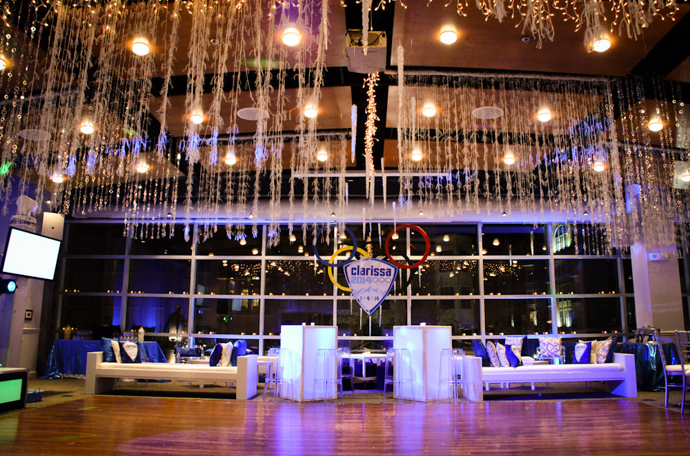 Winter Bat Mitzvah at Visarts Rockville - Catering by Seasons