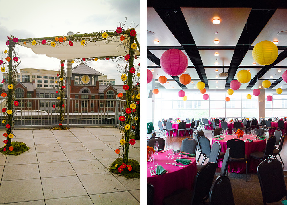 Weddings at Visarts in Rockville - Catering by Seasons