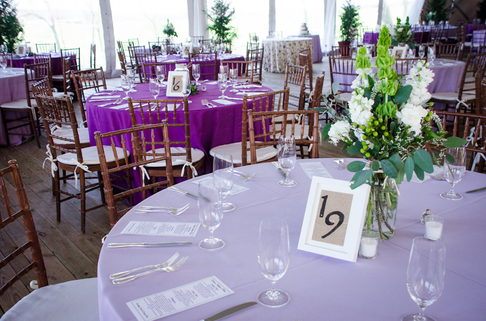 Spring Wedding at Walker's Overlook - Catering by Seasons