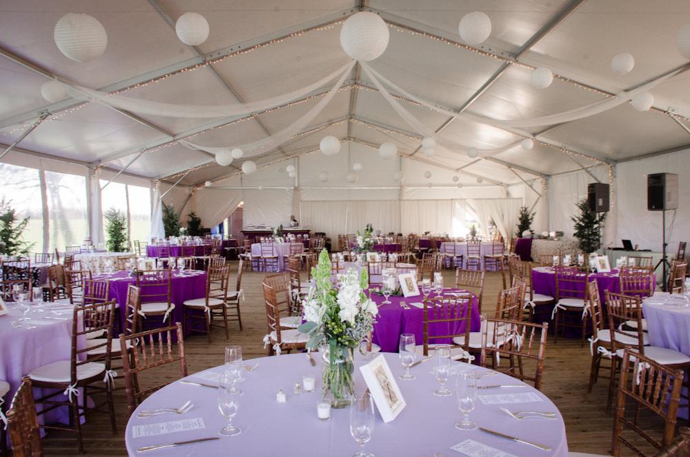 Spring Wedding at Walker's Overlook - Catering by Seasons