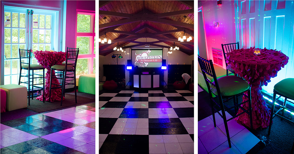 Bat Mitzvah at Rockwood Manor - Catering by Seasons