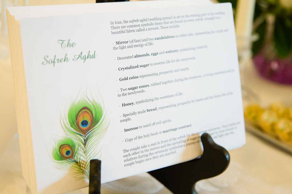 Jewish and Persian Wedding Celebration - Catering by Seasons