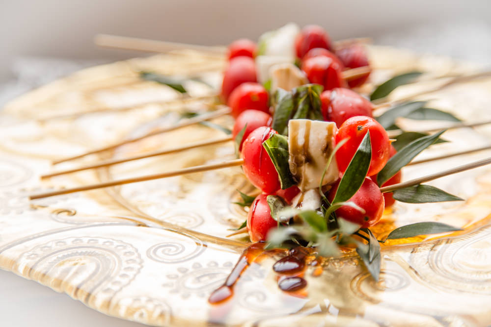 Caprese Skewers - Hors D'oevure from Catering by Seasons