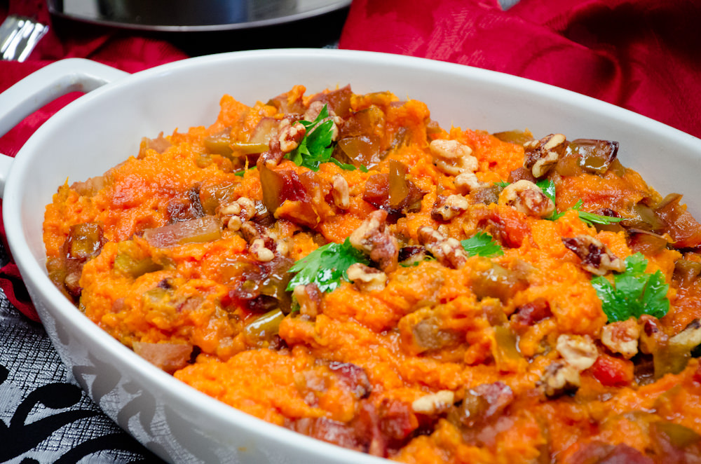 Sweet Potato and Apple Casserole - Catering by Seasons