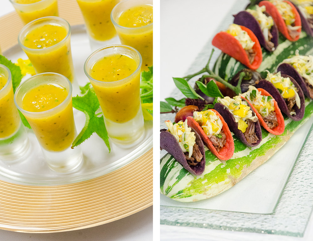 Seasonal Hors d'oeuvre from Catering by Seasons