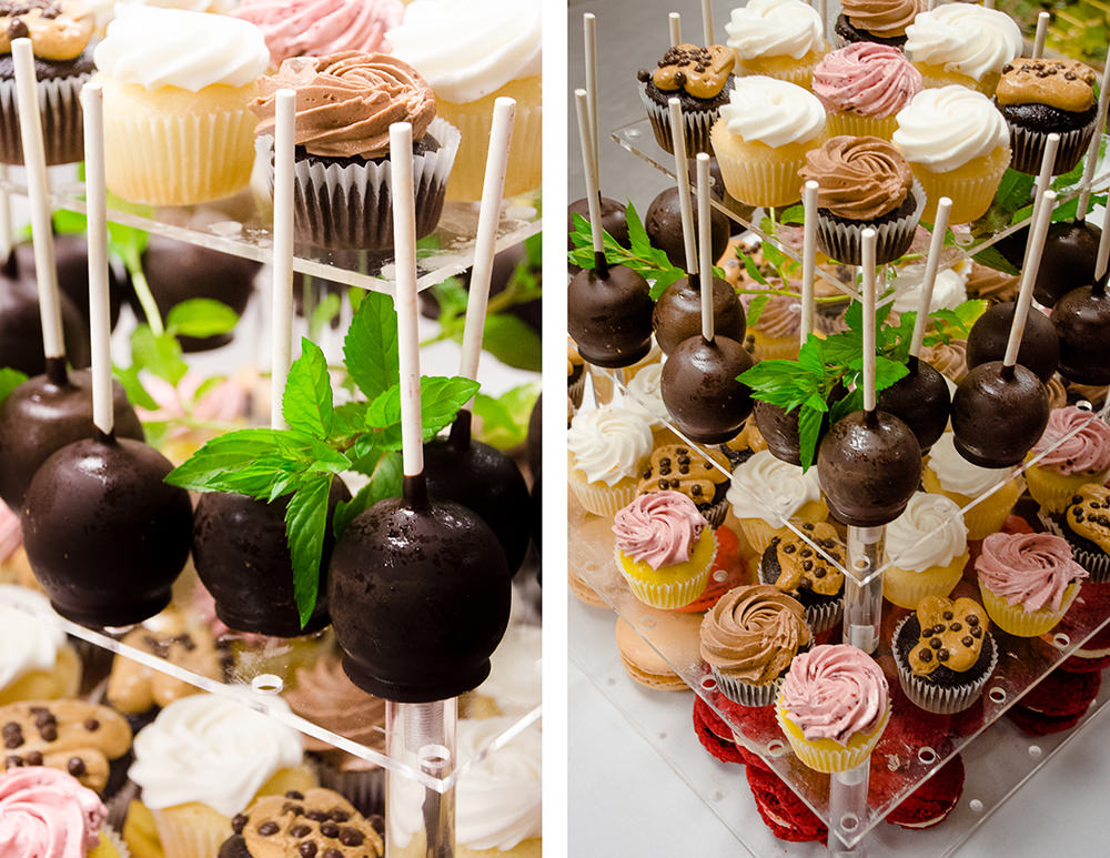 Desserts from Pastry Chef Serge Neimen - Catering by Seasons