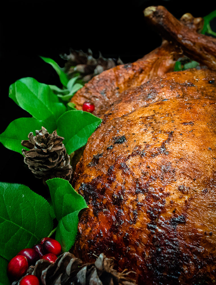 Enjoy our Roasted Whole Turkey, featured on the Holiday Americana buffet station