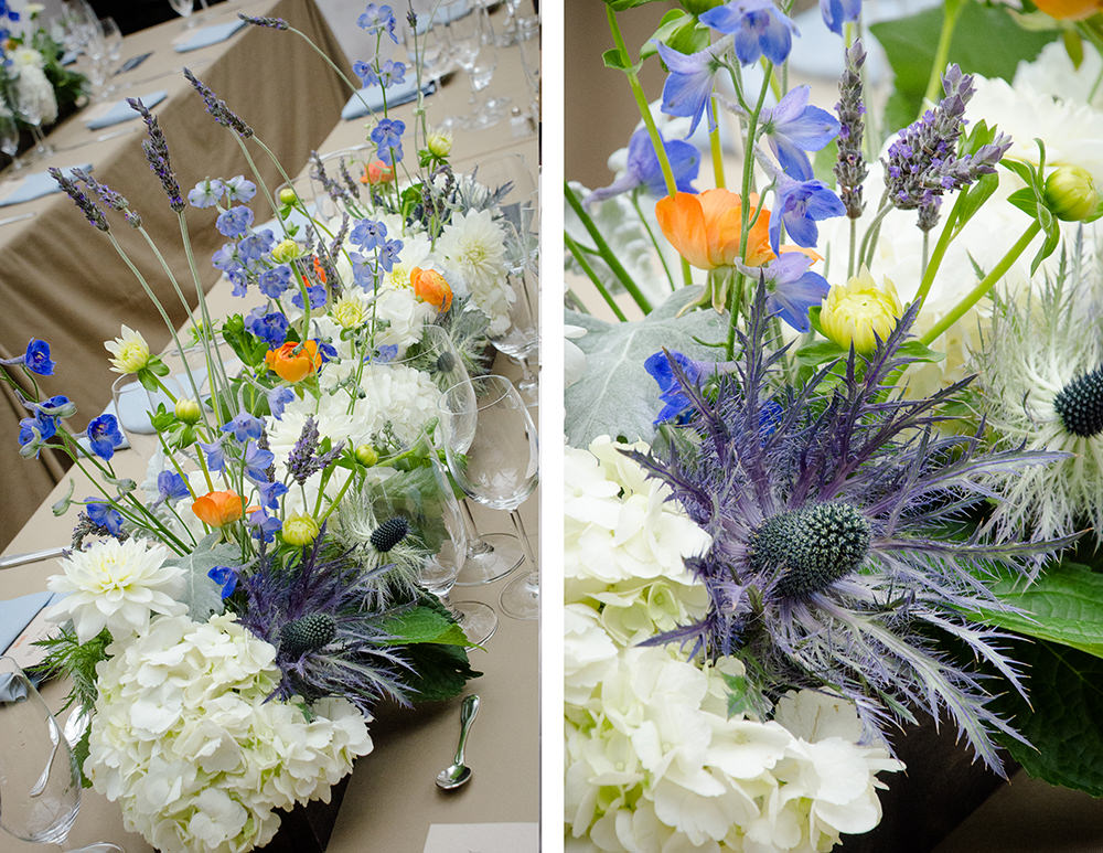 Summer Wedding Centerpieces - Catering by Seasons