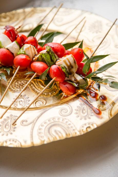 Caprese Skewers from Catering by Seasons