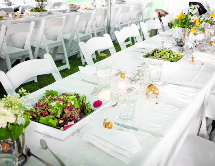 Farm-to-Table Family-Style Wedding Reception