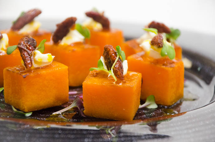 Butternut Squash Cubes from Catering by Seasons