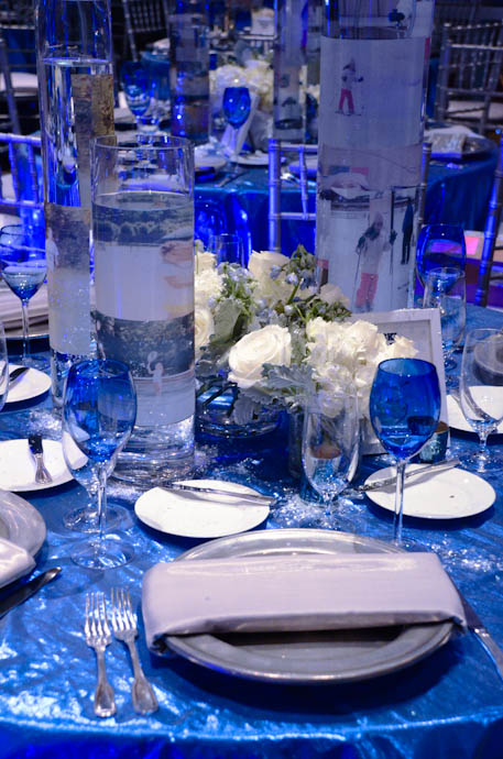 Blue and Silver Winter Bat Mitzvah
