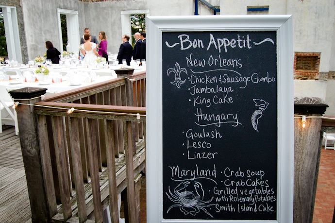 Cajun-Inspired Wedding Reception