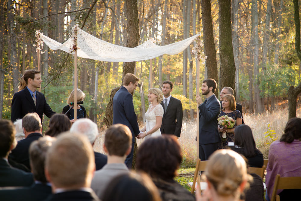 Fall Wedding at Woodend Sanctuary - Catering by Seasons (1 of 15)