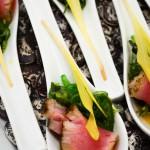 Seared Tuna Spoons