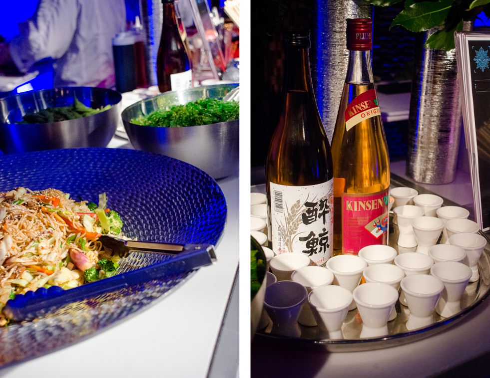 Asian Buffet Station - Catering by Seasons