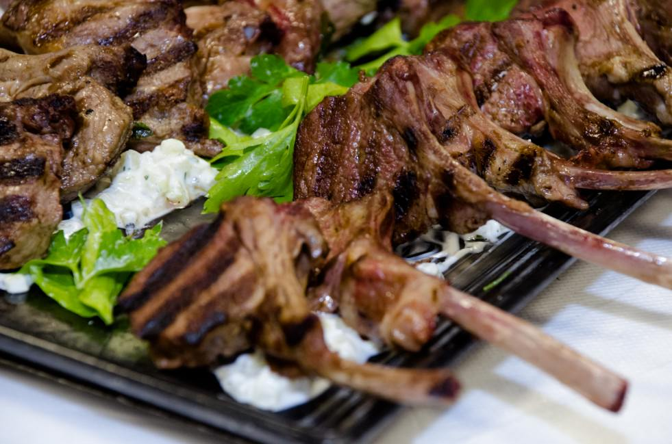 Grilled Lamb Chops from Catering by Seasons