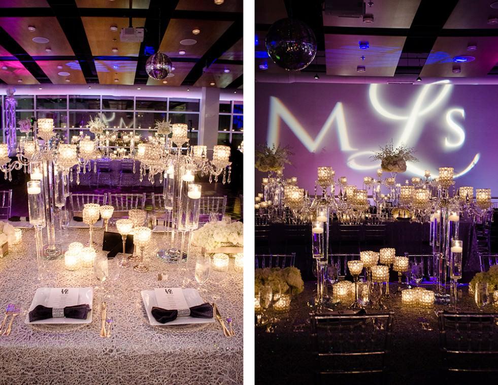 Wedding Decor at Visarts Rockville - Catering by Seasons