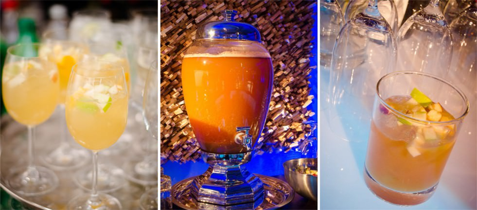 Drinks with a Twist from Catering by Seasons
