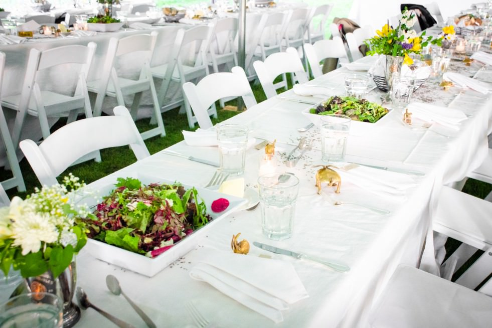 Family Style Wedding with Catering by Seasons