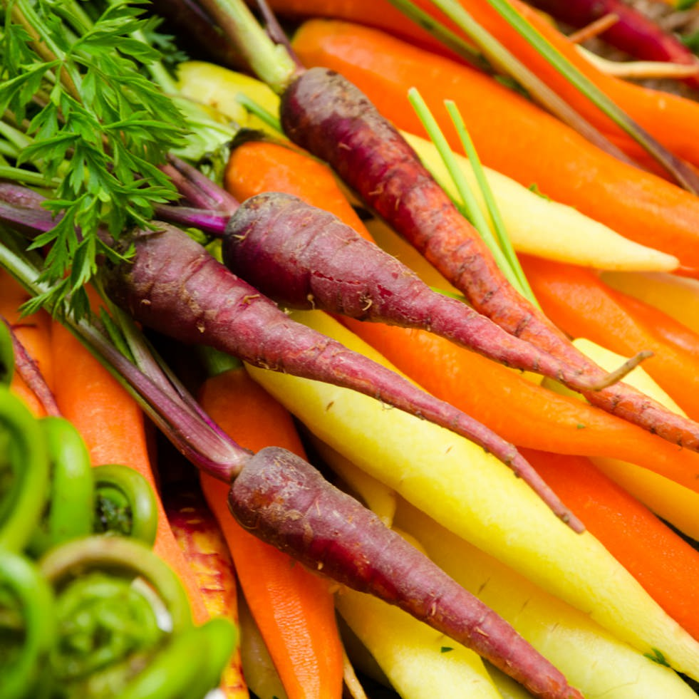 Farm Fresh Carrots with Catering by Seasons