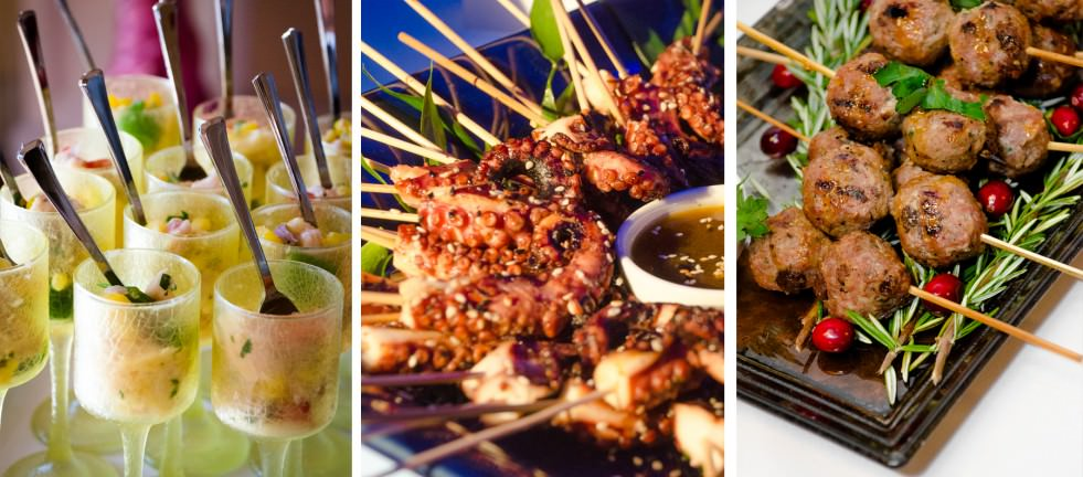 Worldwide Cuisine from Catering by Seasons