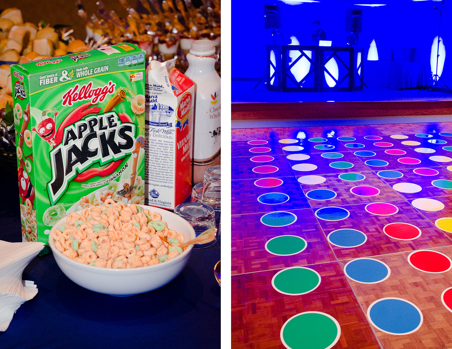 Game Night Bar Mitzvah with Catering by Seasons