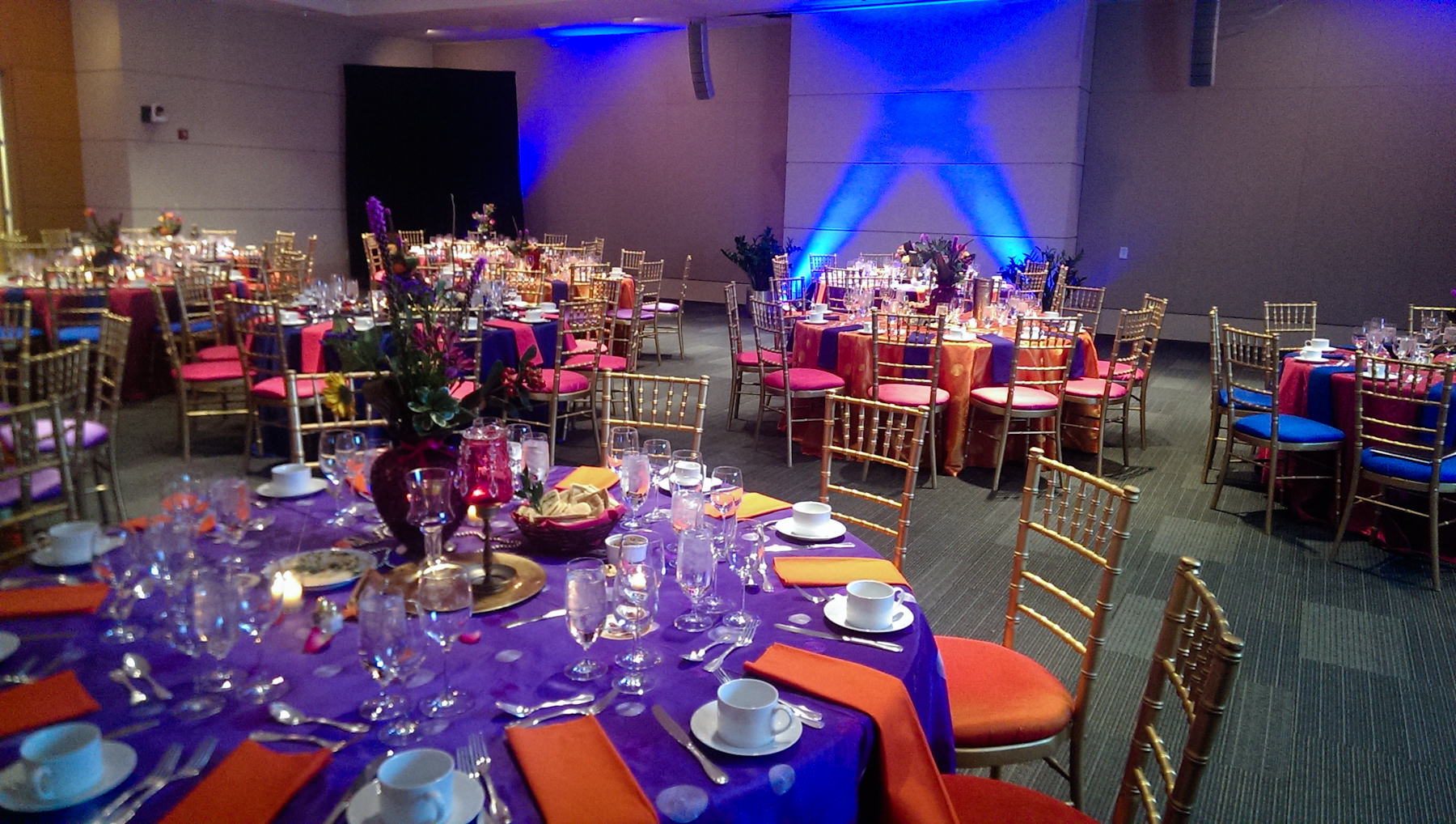 Colorful Arabian Nights Ucm Spring Gala Catering By Seasons