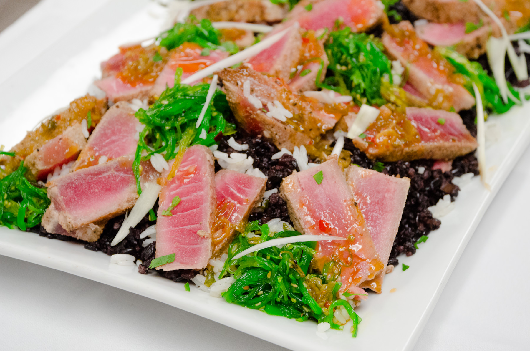 Seared Tuna Salad from Catering by Seasons
