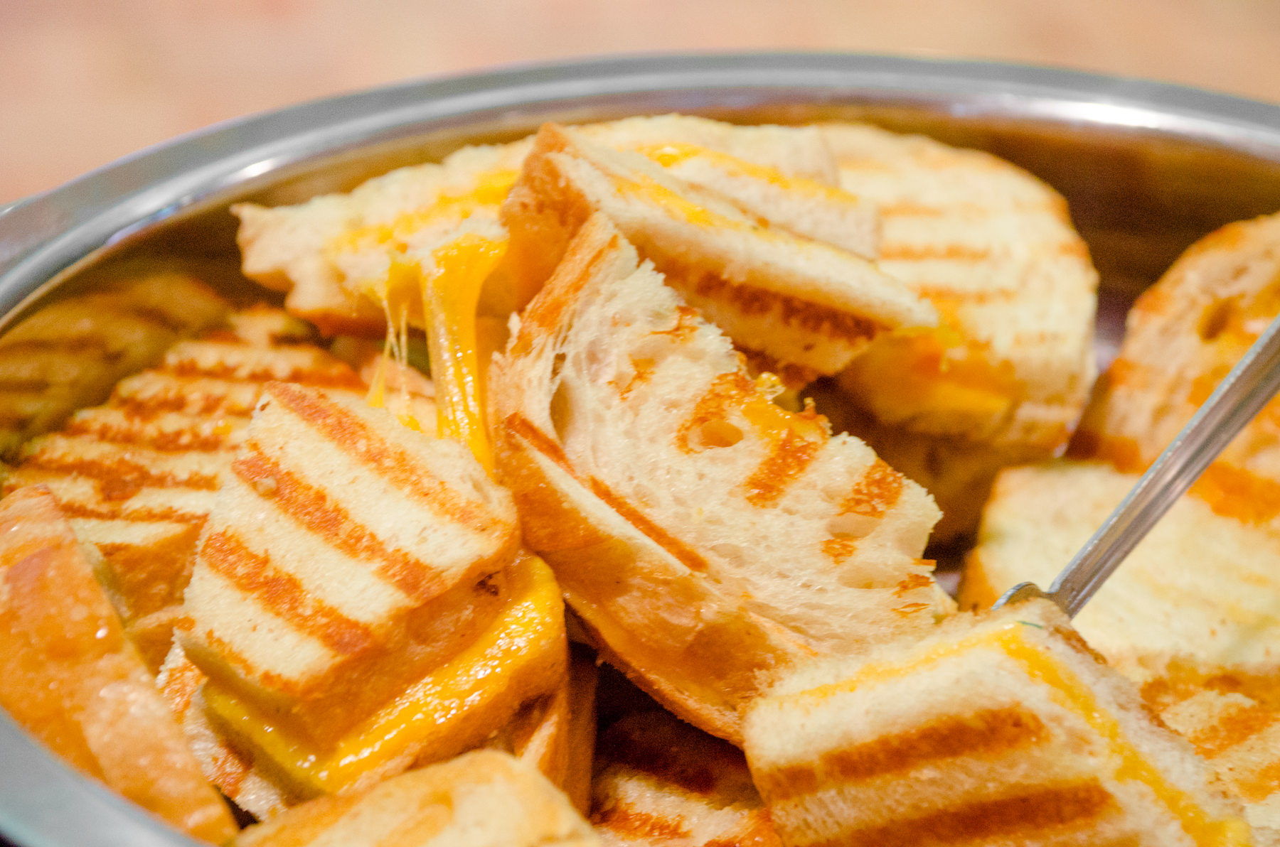 Grilled Cheese at Bat Mitzvah - Catering by Seasons (1 of 1)