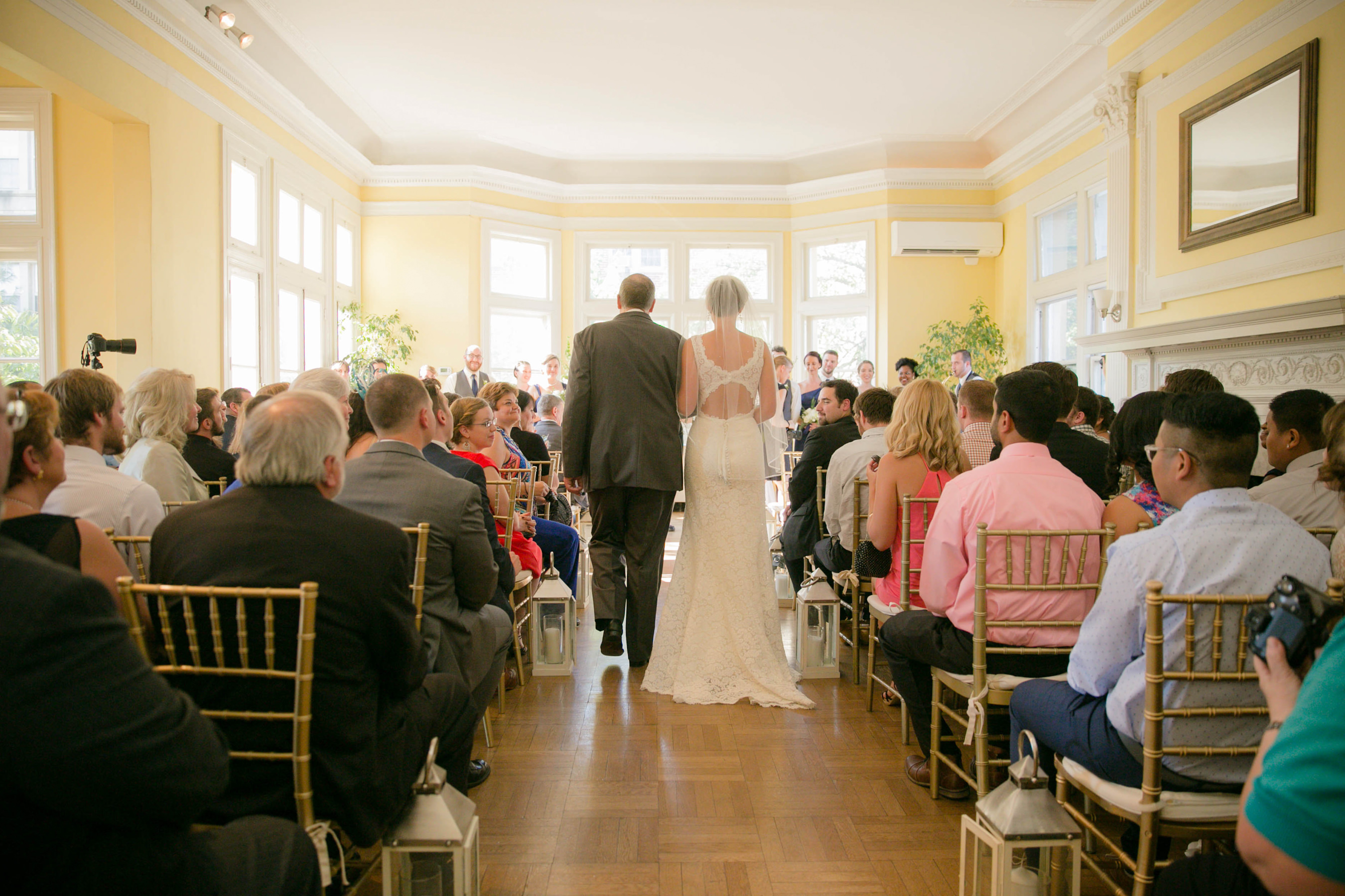A beautiful wedding at Josphine Butler Mansion
