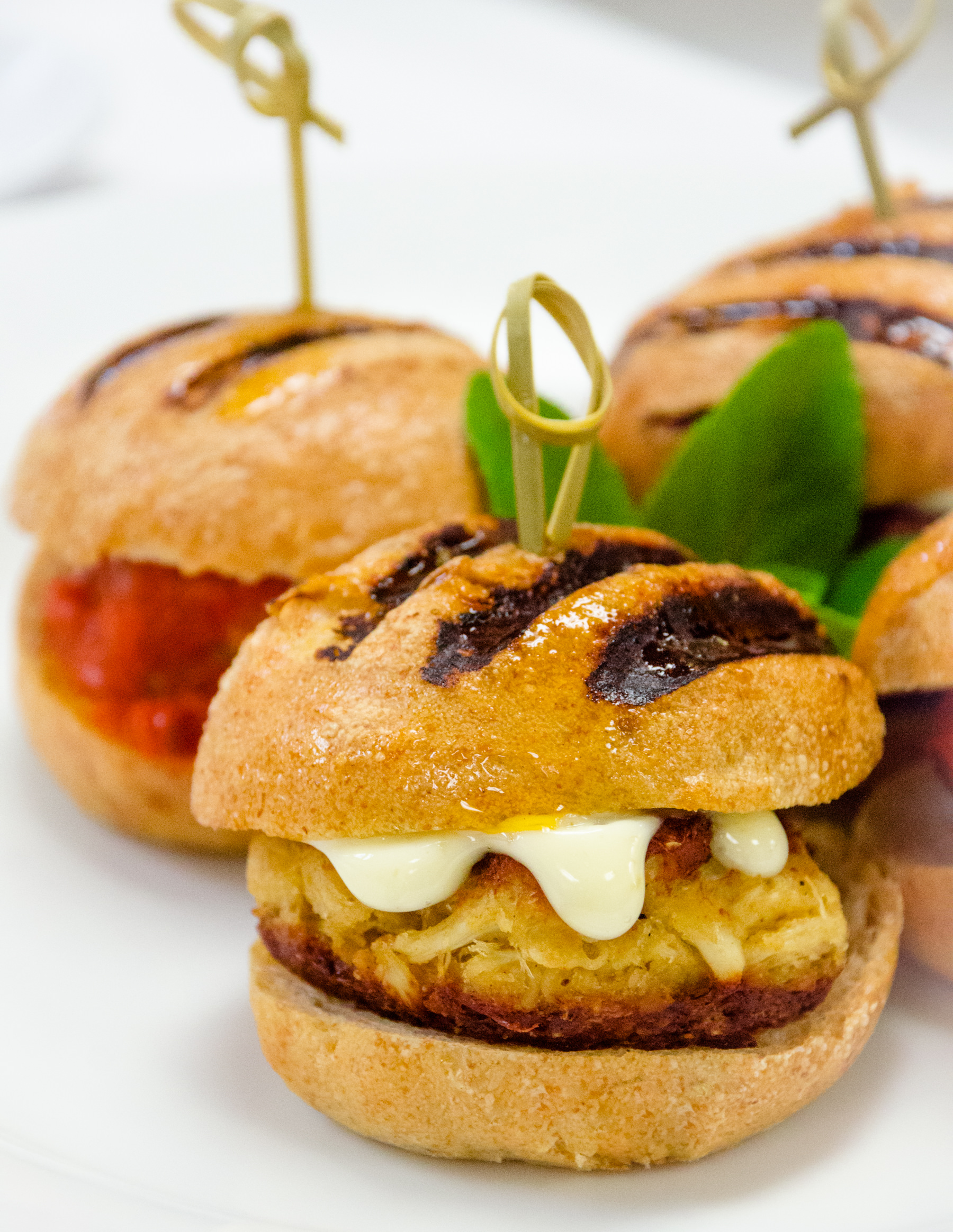 Maryland Crab Cake Sliders with Catering by Seasons