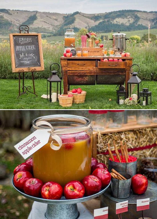 Apple Cider Station